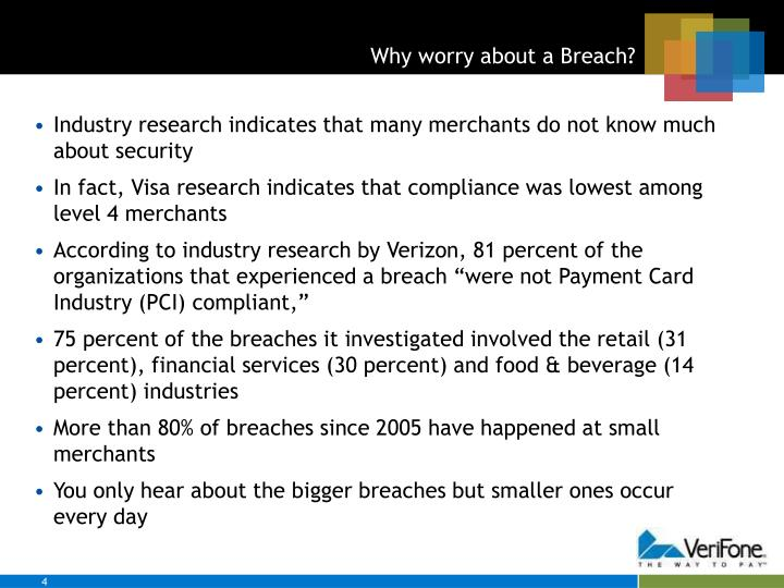 Why worry about a Breach?