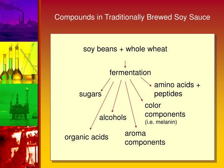 Compounds in Traditionally Brewed Soy Sauce