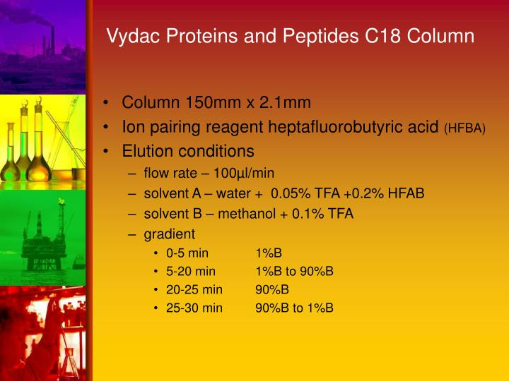 Vydac Proteins and Peptides C18 Column