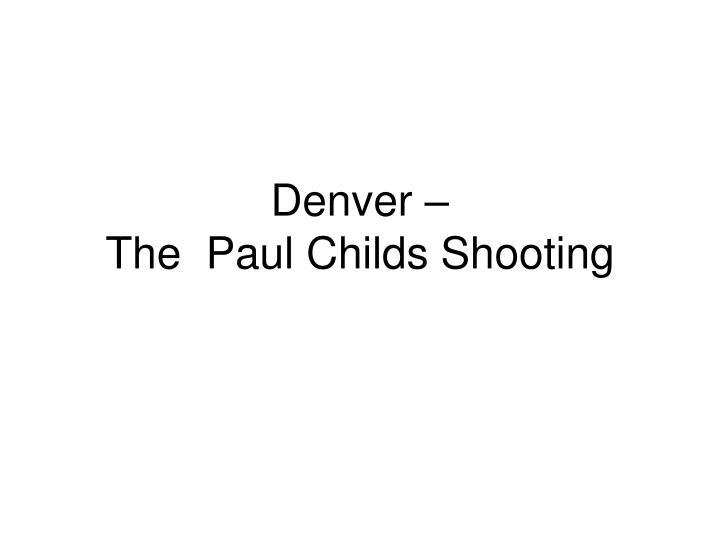 Denver –