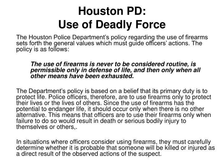 Houston PD: