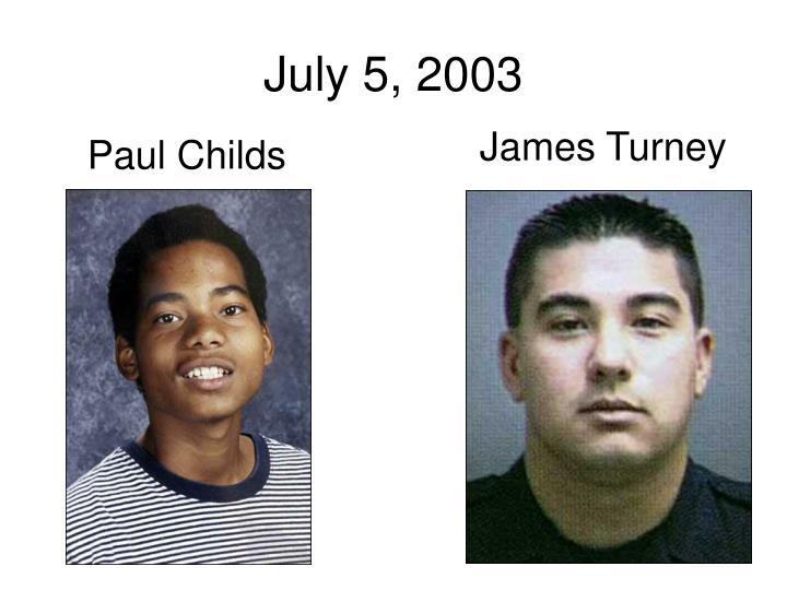 July 5, 2003