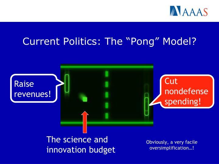 """Current Politics: The """"Pong"""" Model?"""