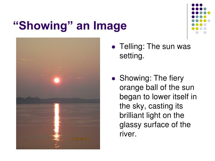 """""""Showing"""" an Image"""