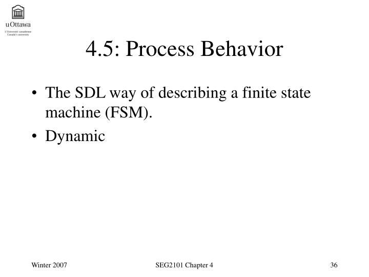 4.5: Process Behavior