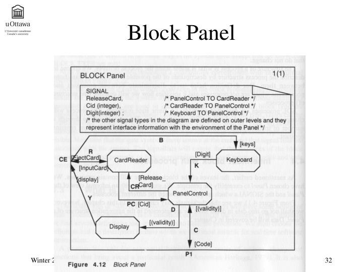 Block Panel