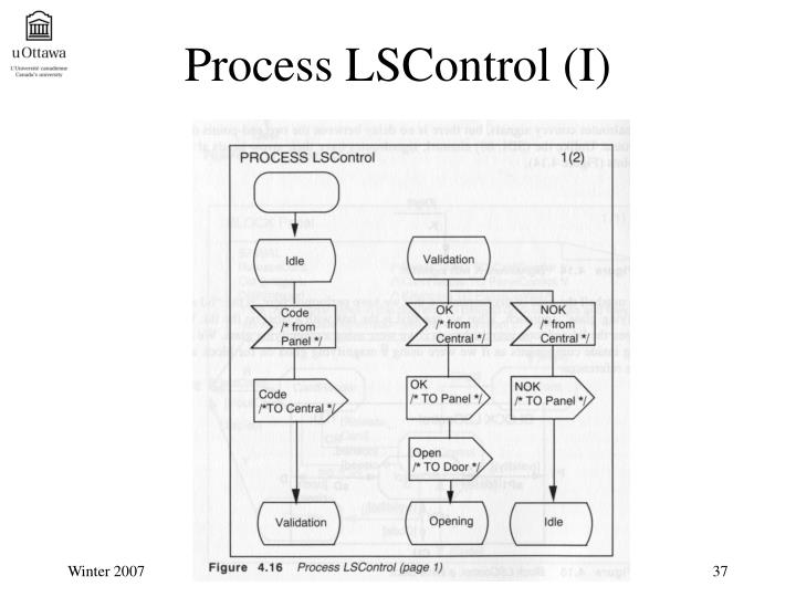 Process LSControl (I)