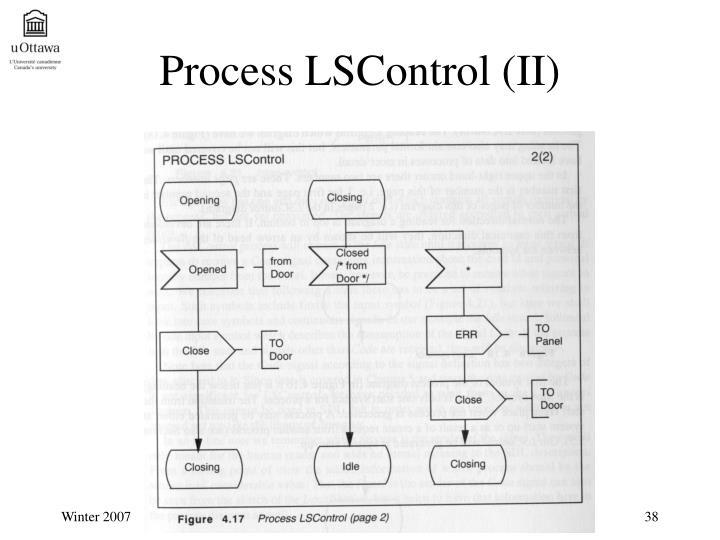Process LSControl (II)