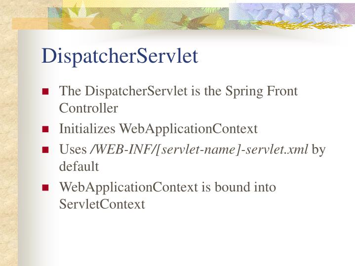 DispatcherServlet