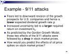 example 9 11 attacks