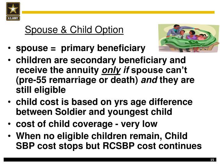 Spouse & Child Option