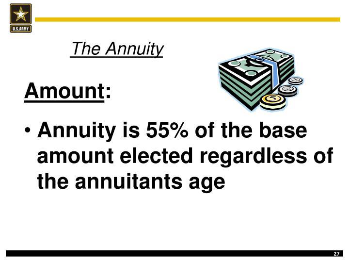 The Annuity