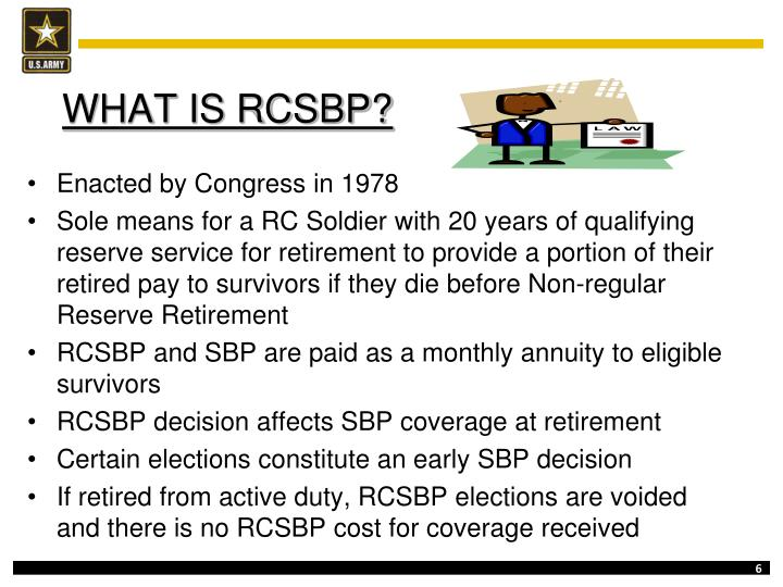 WHAT IS RCSBP?