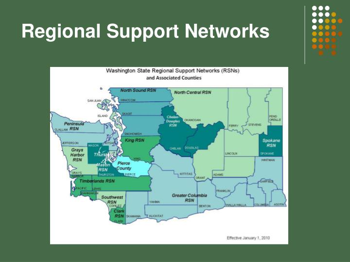 Regional Support Networks
