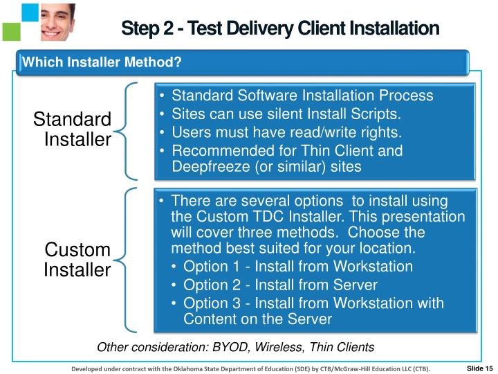 Step 2 - Test Delivery Client Installation