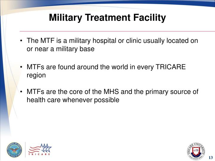 Military Treatment Facility