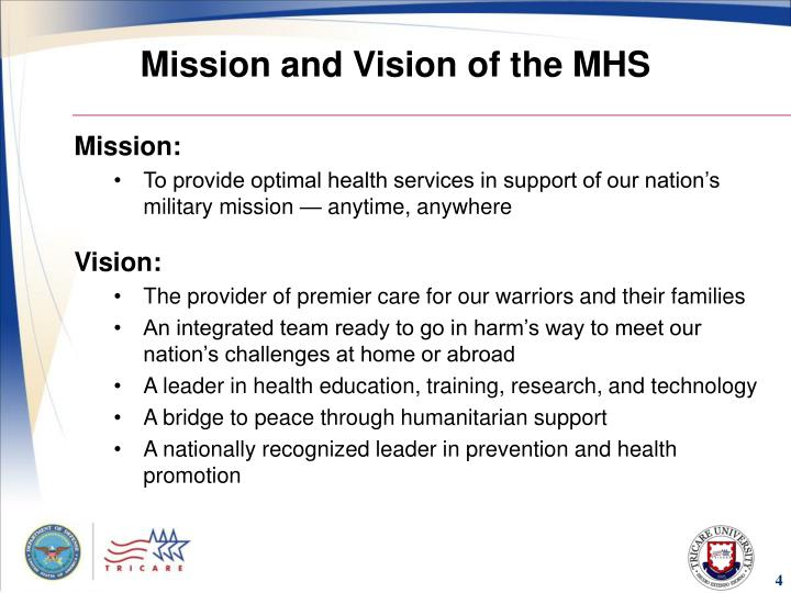 Mission and Vision of the MHS