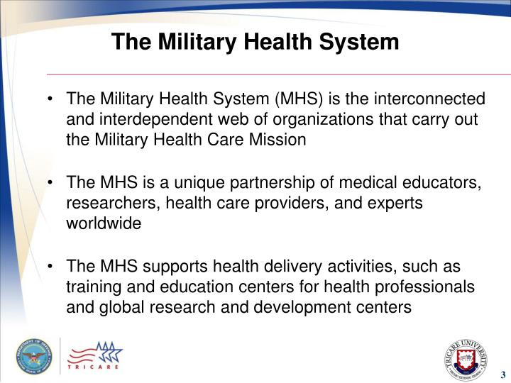 The military health system