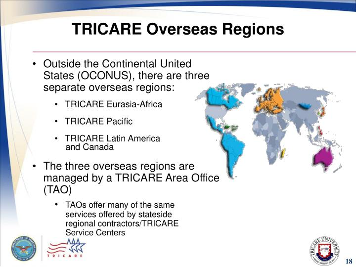 TRICARE Overseas Regions