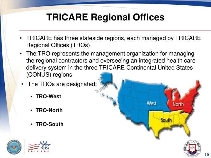 TRICARE Regional Offices