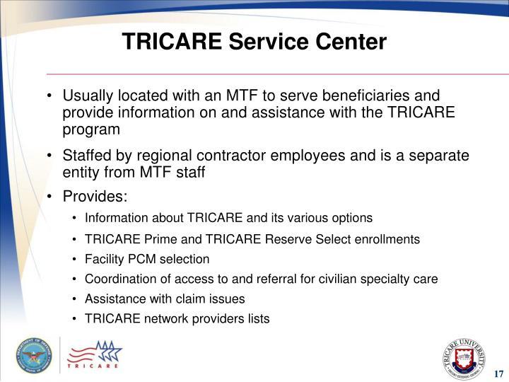 TRICARE Service Center