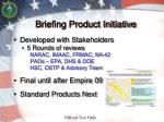 briefing product initiative1