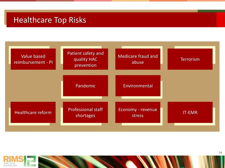 Healthcare Top Risks