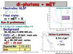 di photons met