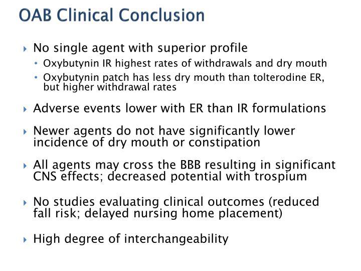 OAB Clinical