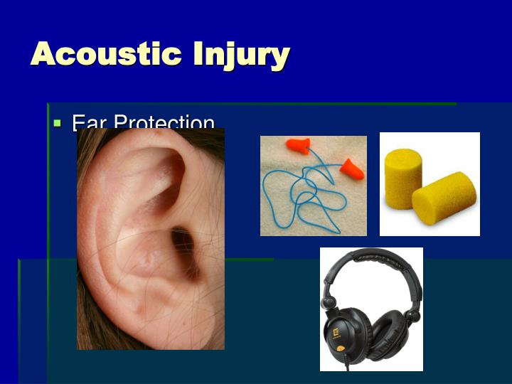 Acoustic Injury