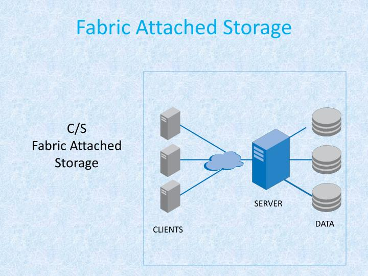 Fabric Attached Storage