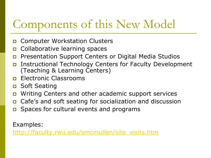 Components of this New Model