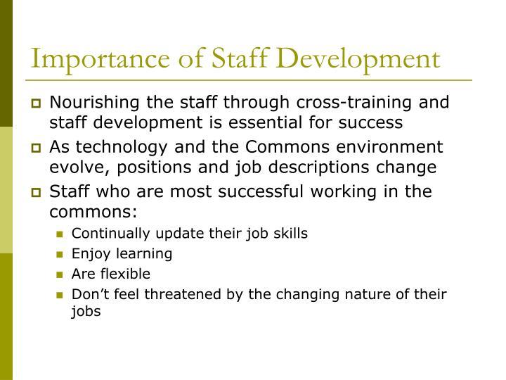 Importance of Staff Development