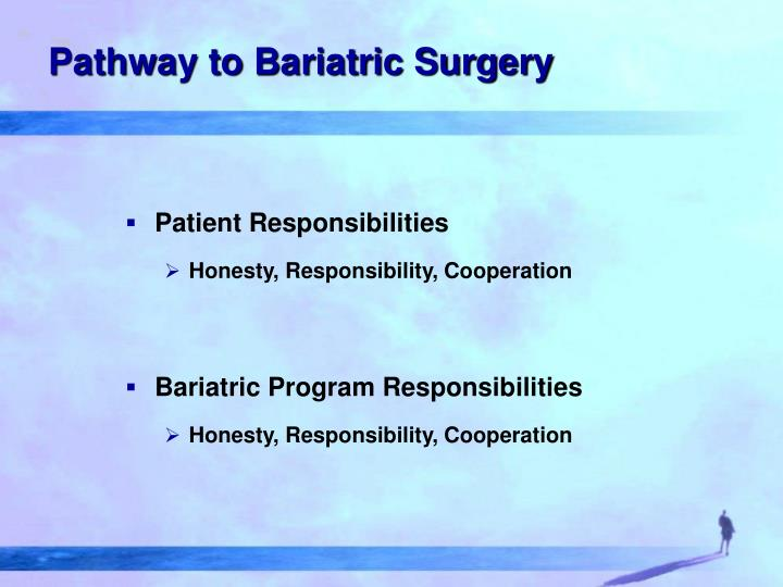 Pathway to Bariatric Surgery