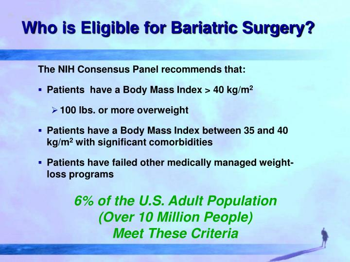 Who is Eligible for Bariatric Surgery?