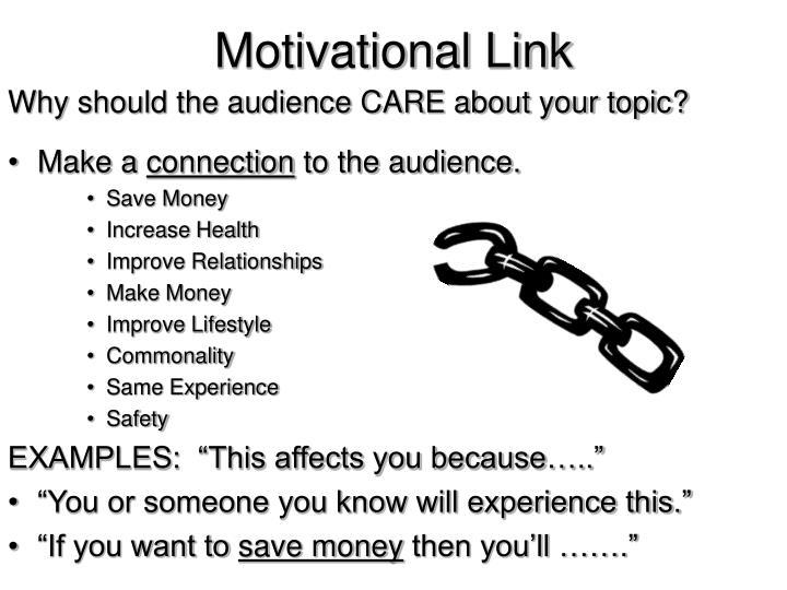 Motivational Link