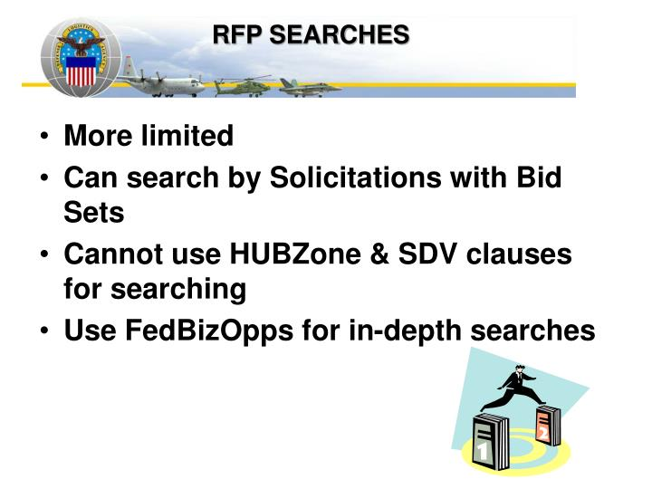 RFP SEARCHES