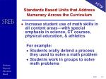 standards based units that address numeracy across the curriculum1