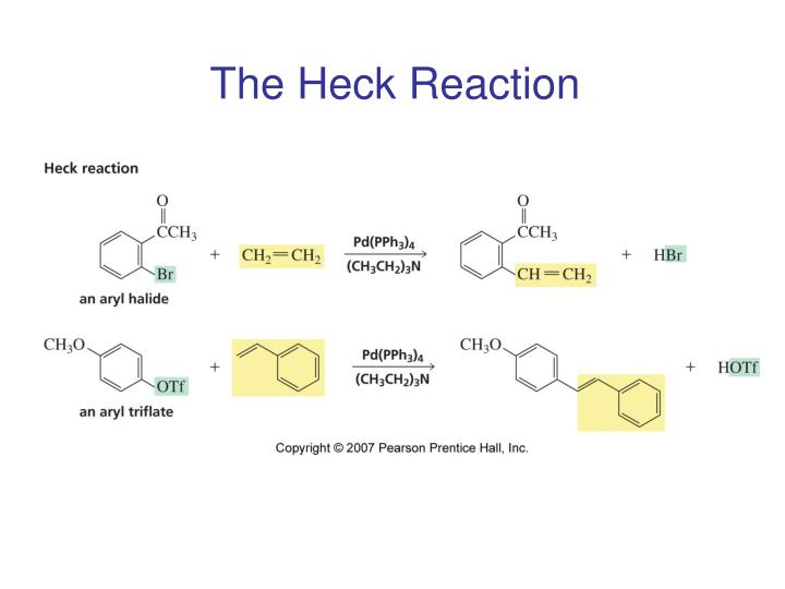 The Heck Reaction