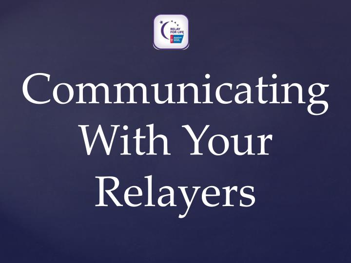 Communicating With Your