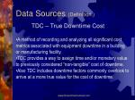 data sources definition