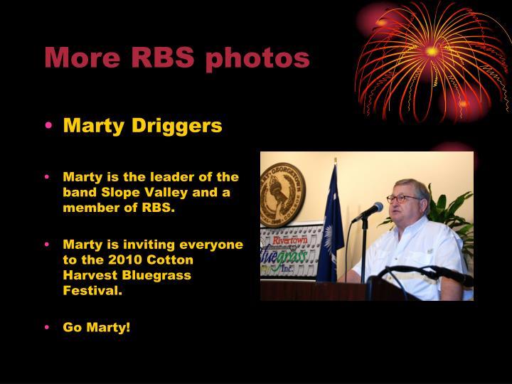More RBS photos