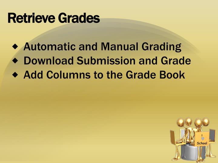Retrieve Grades