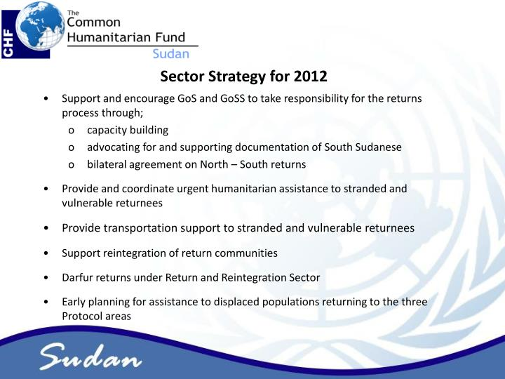 Sector Strategy for 2012