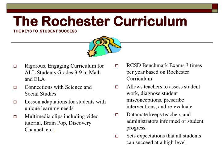 The Rochester Curriculum