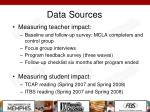 data sources1