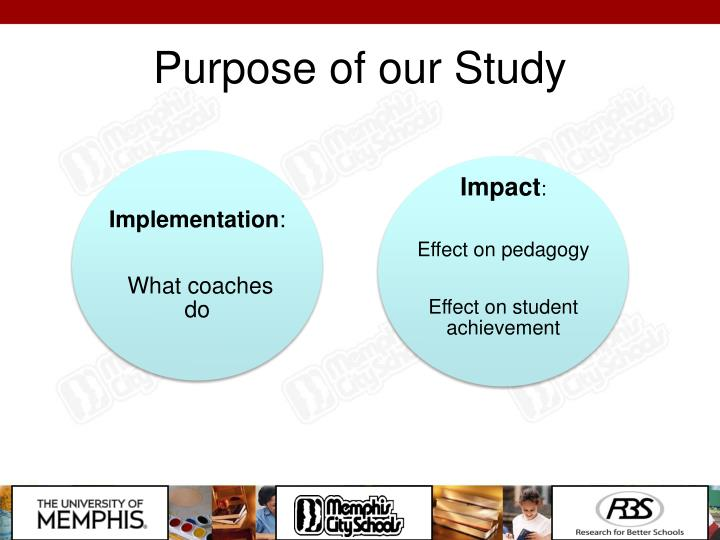 Purpose of our Study
