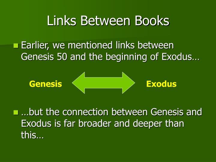 Links Between Books