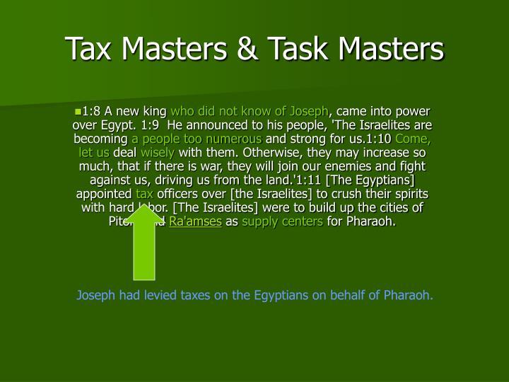 Tax Masters & Task Masters