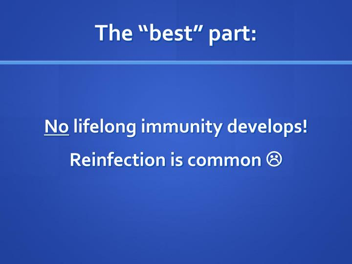 """The """"best"""" part:"""